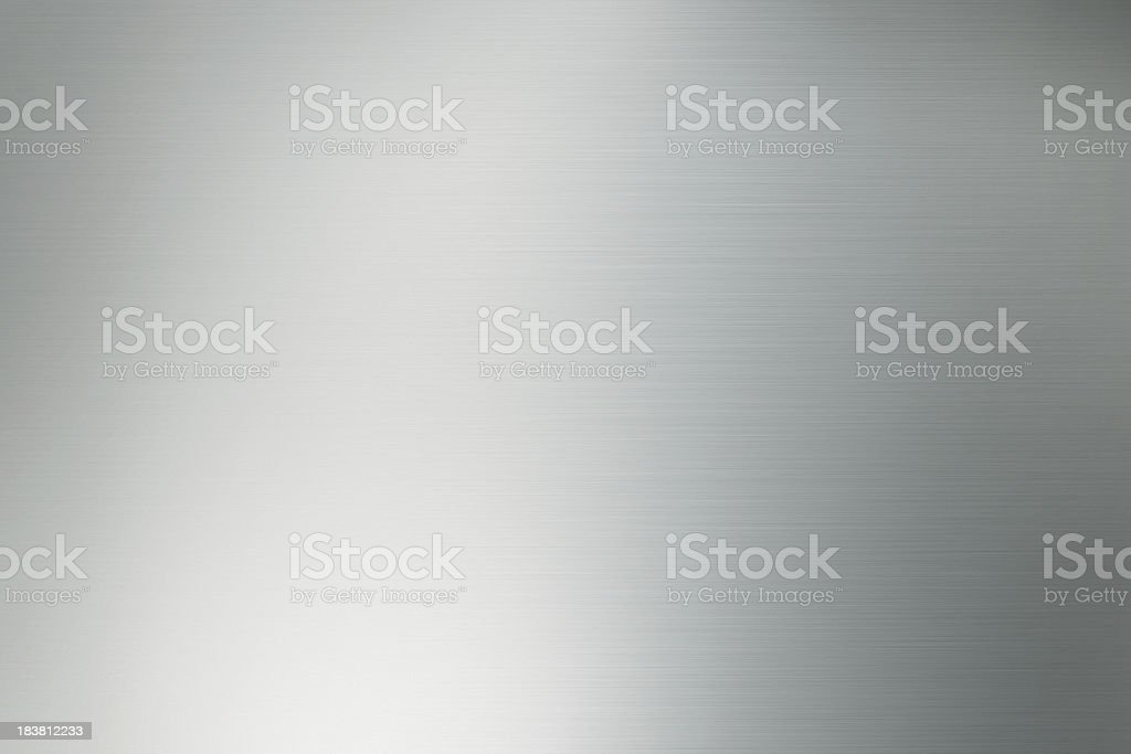 shiny metal surface background stock photo