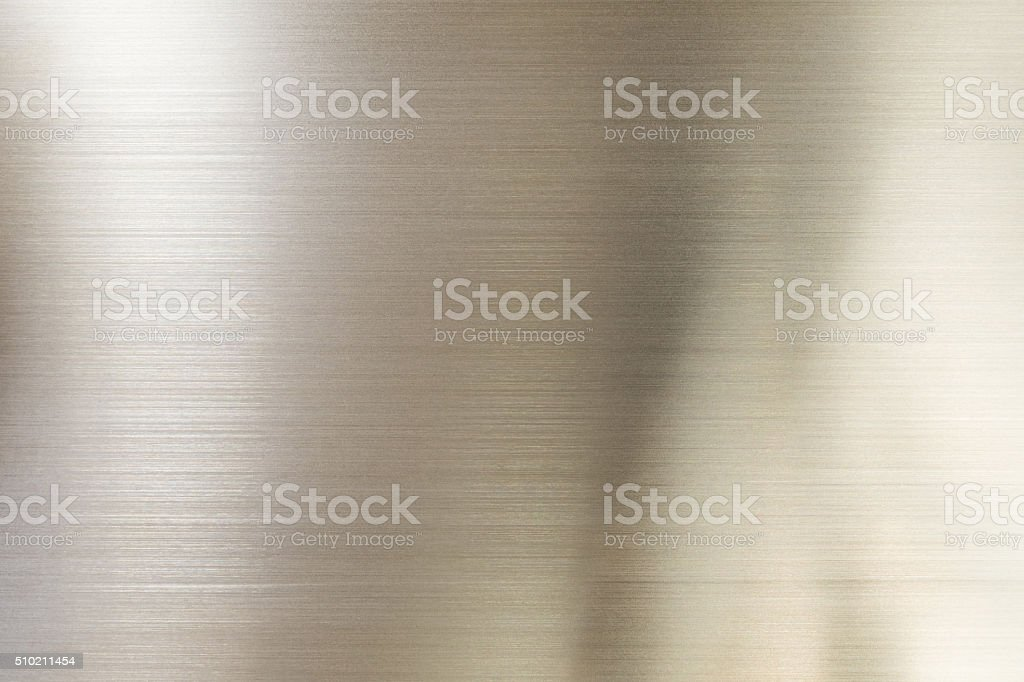 shiny metal surface close up stock photo