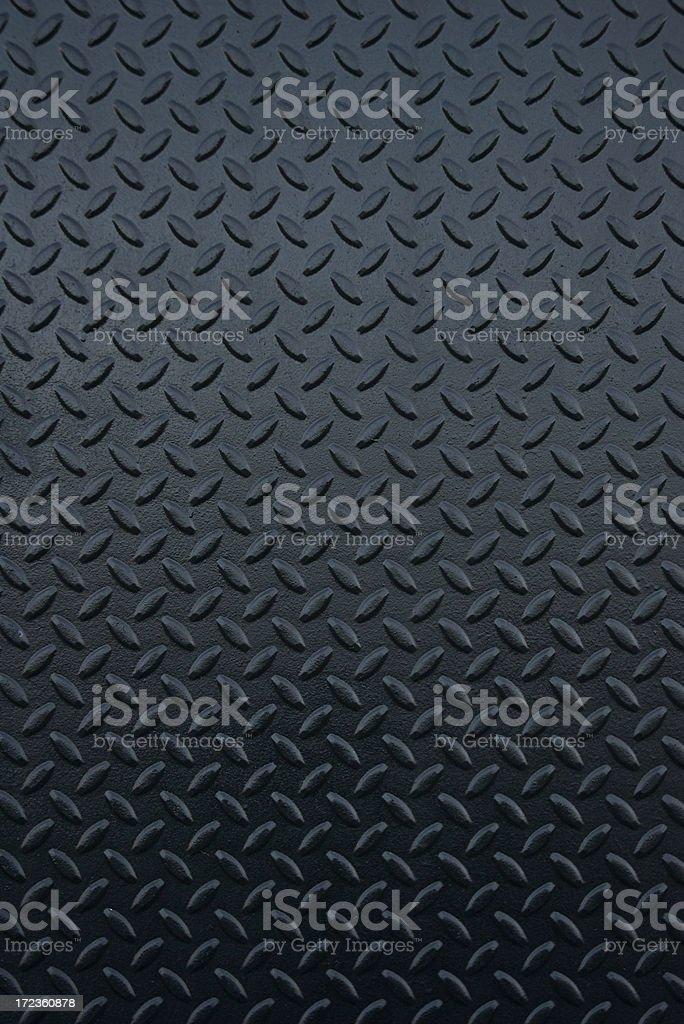 Shiny New Industrial Black Steel Tread Full Frame Background stock photo