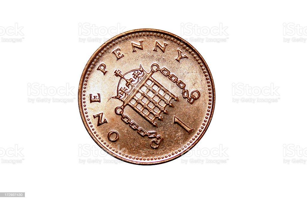 Shiny Penny royalty-free stock photo
