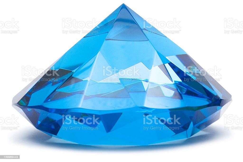 Shiny Sapphire royalty-free stock photo