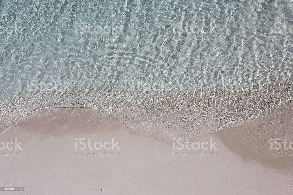 Shiny Sea royalty-free stock photo