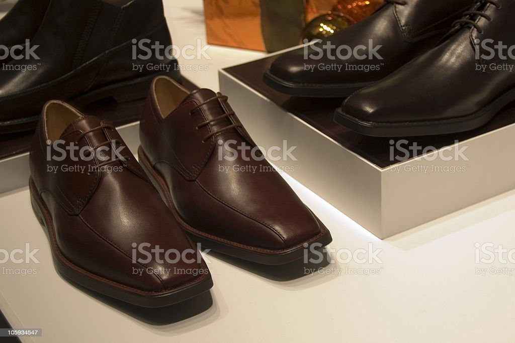 Shiny shoes stock photo