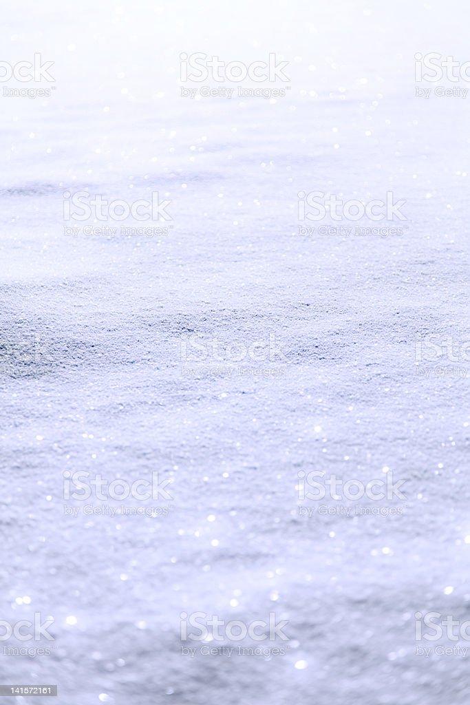 Shiny Snow - Fairy stock photo