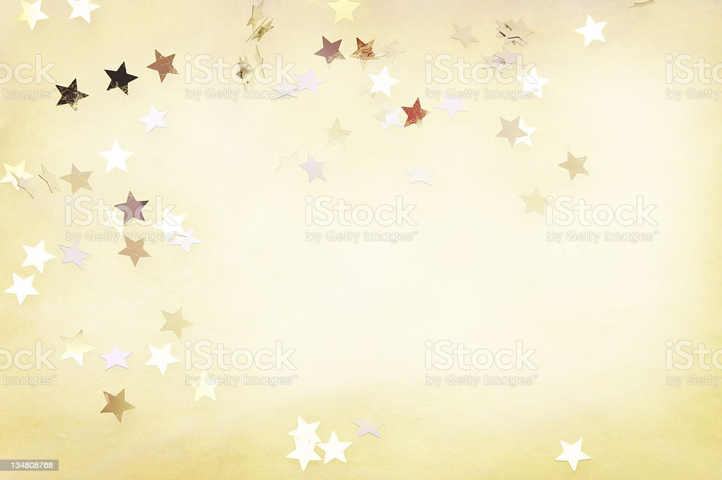 Shiny stars background royalty-free stock photo