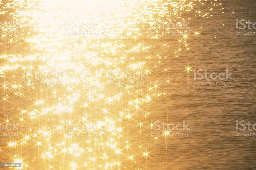 Shiny water royalty-free stock photo