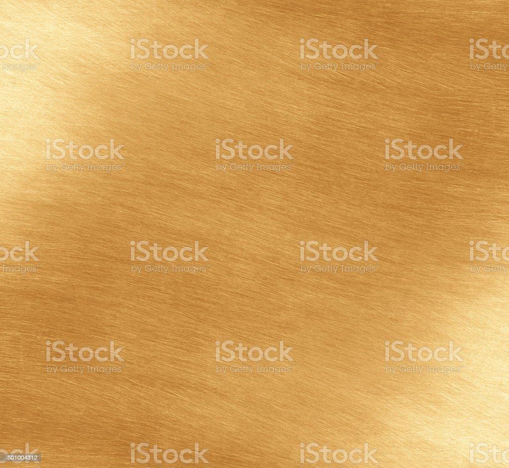 Shiny yellow leaf gold stock photo