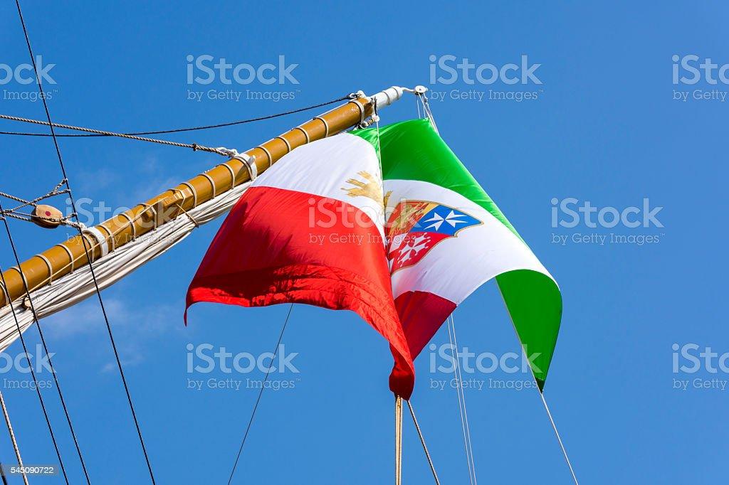 ship Amerigo Vespucci stock photo