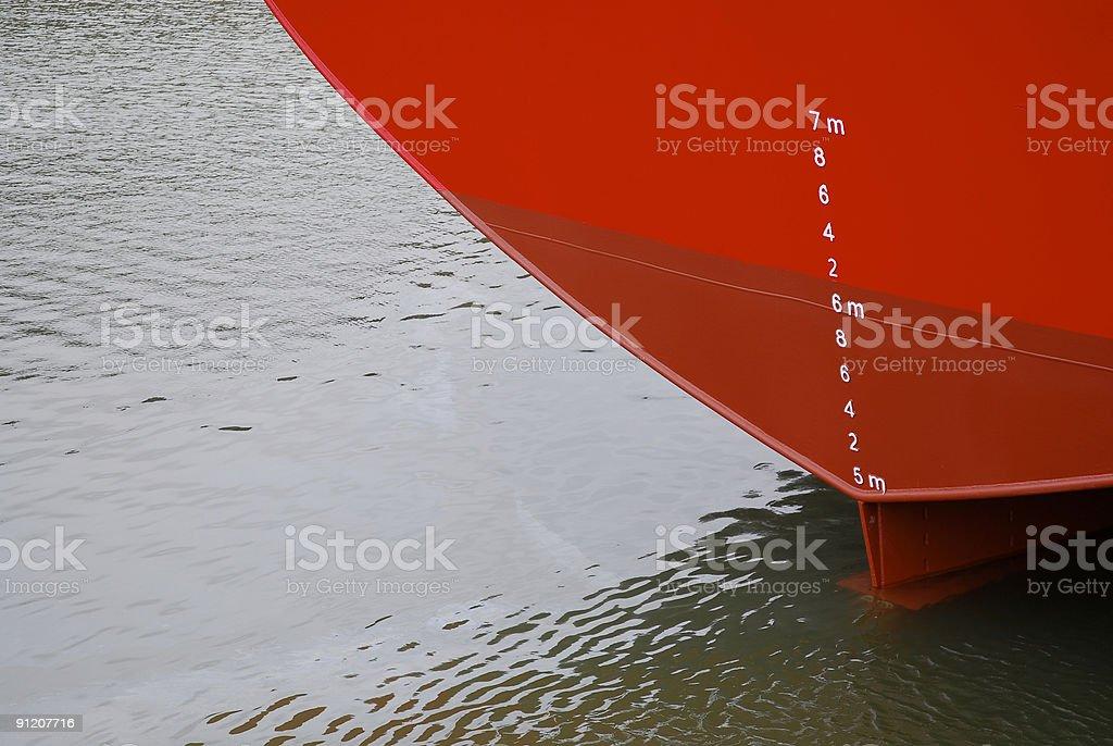 Ship at habor royalty-free stock photo