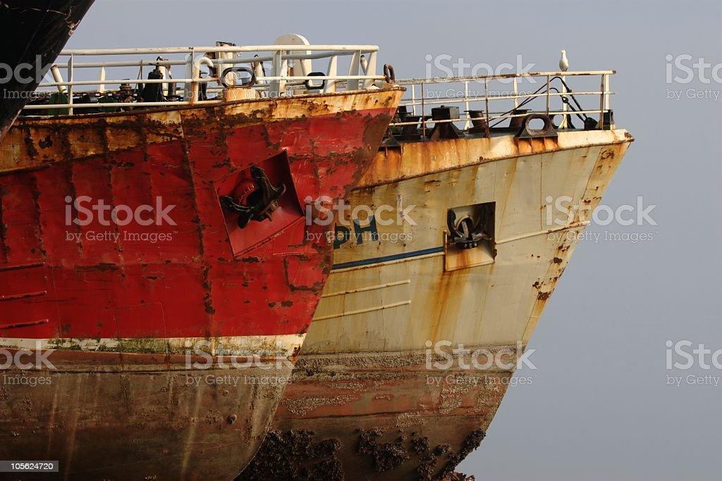 Ship Breaker royalty-free stock photo