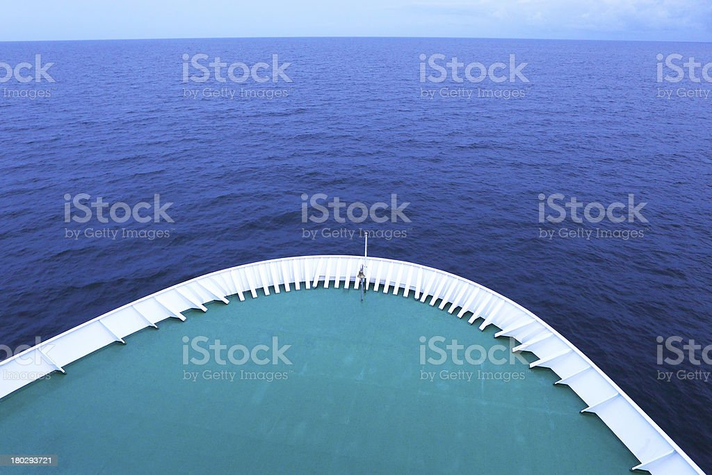 Ship flight royalty-free stock photo