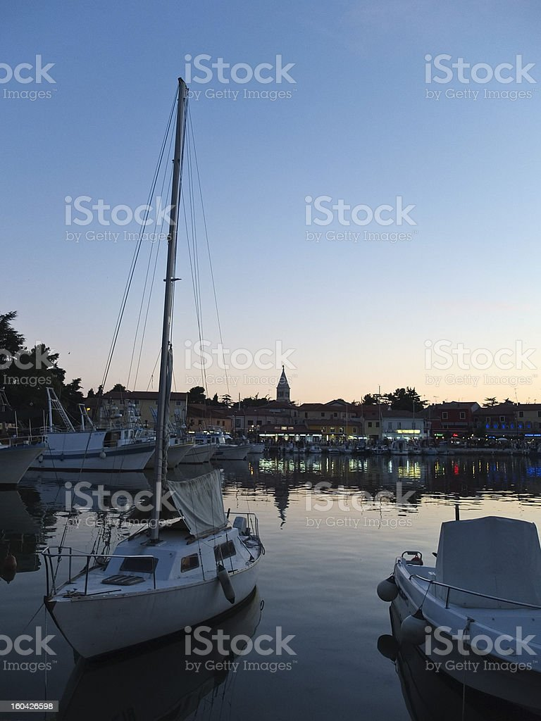 ship habour stock photo