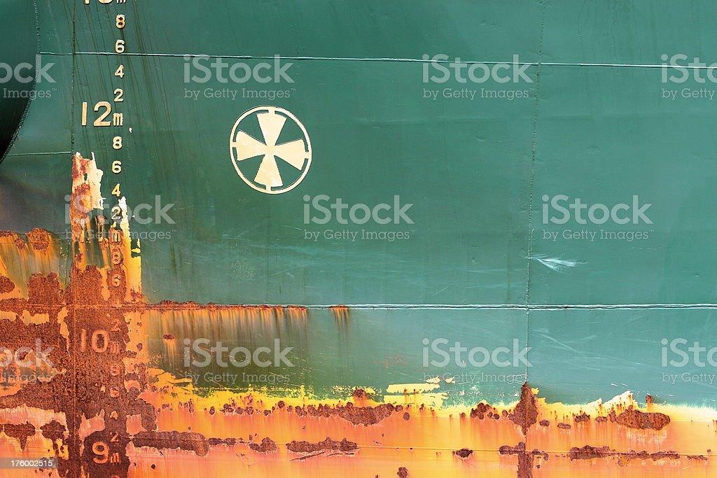 Ship Hull stock photo