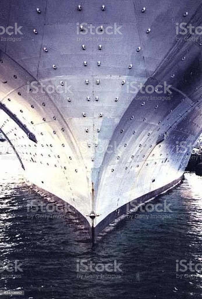 Ship in the Water stock photo