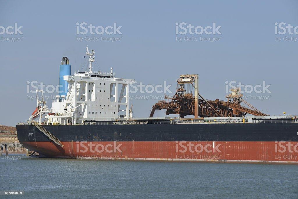 Ship Loader stock photo