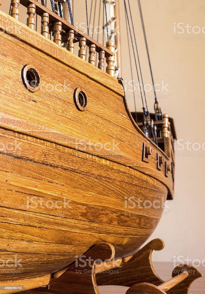 Ship models. royalty-free stock photo