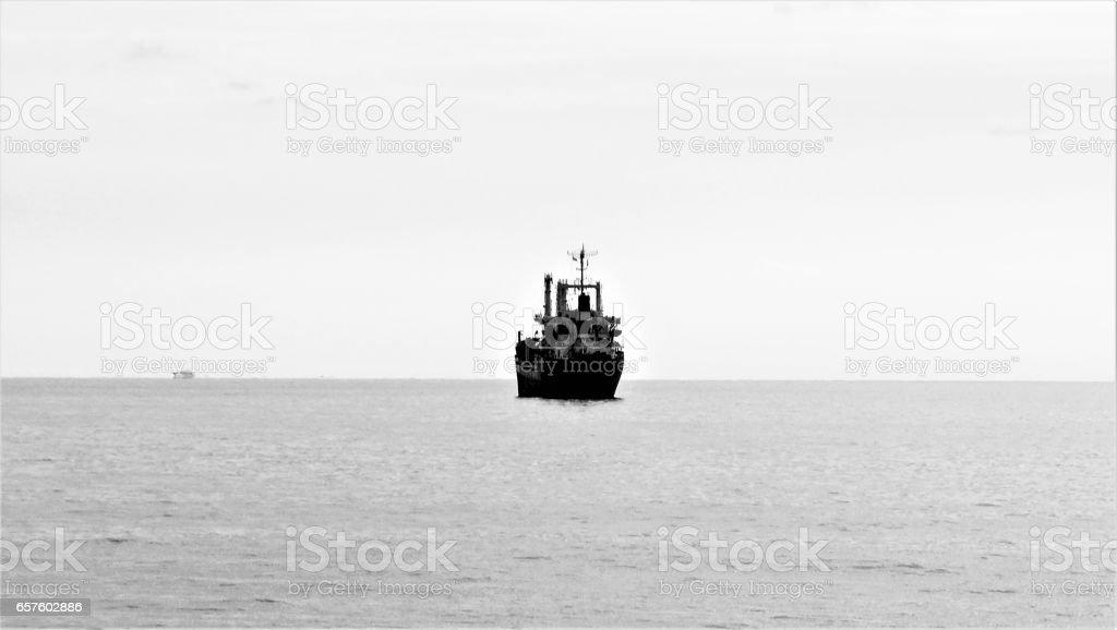 ship off stock photo