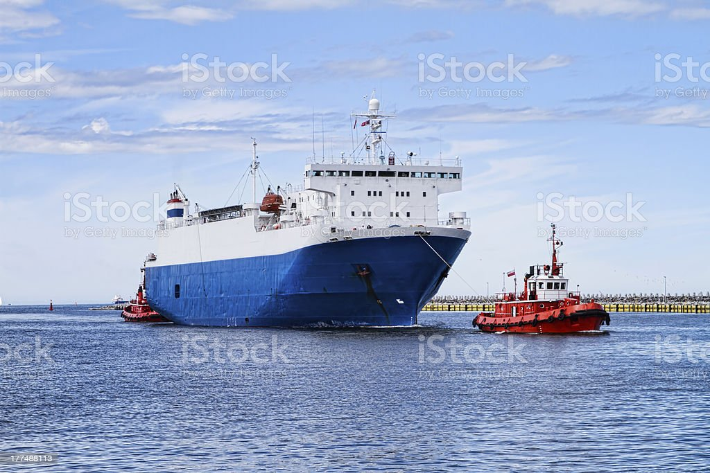 Ship stock photo