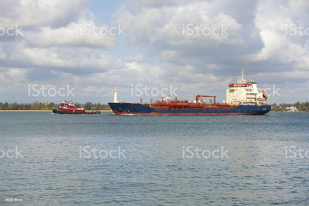 LPG ship stock photo