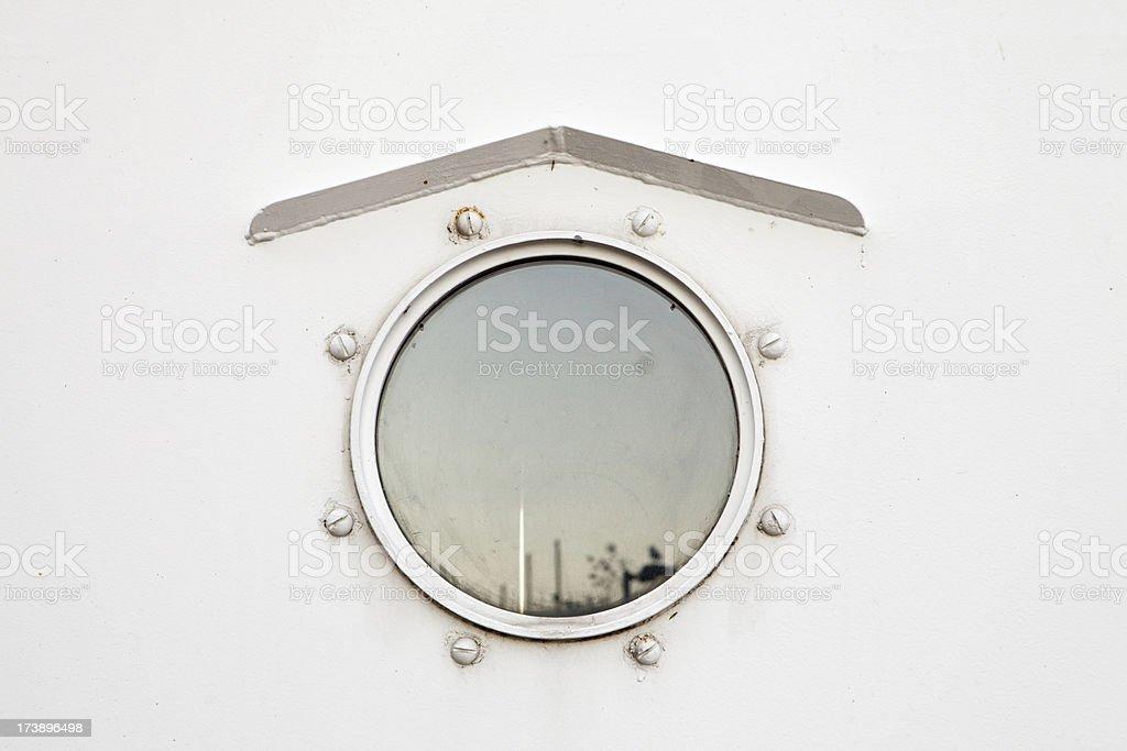 ship porthole stock photo