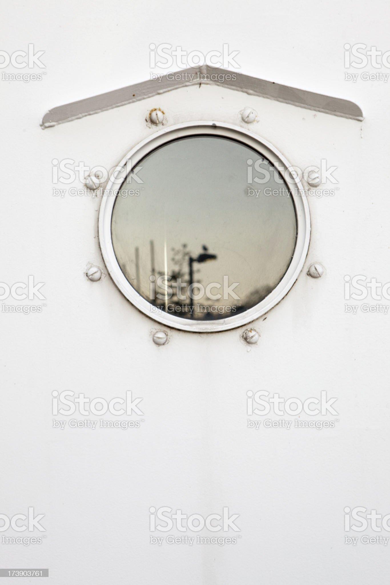 ship porthole royalty-free stock photo