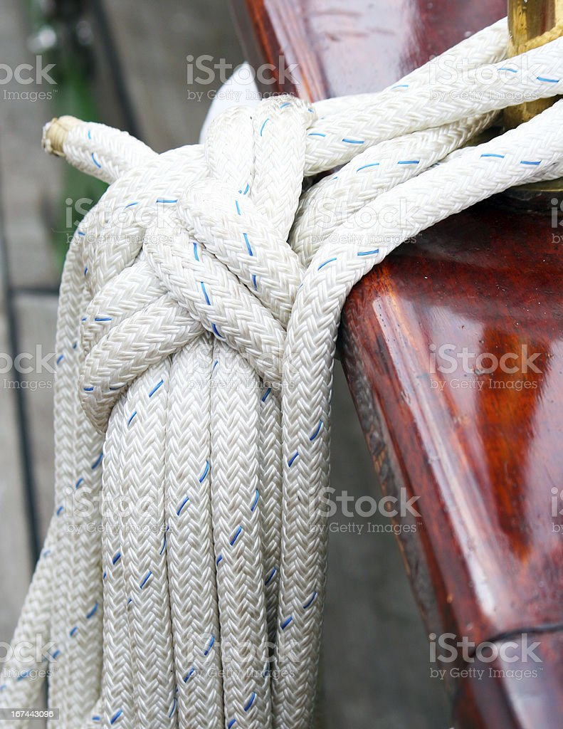 Ship rigging royalty-free stock photo