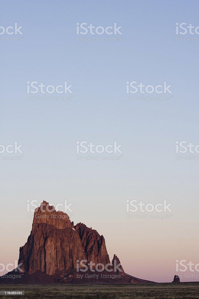 Ship Rock stock photo
