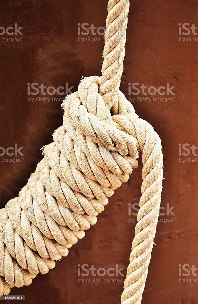 Ship Rope royalty-free stock photo