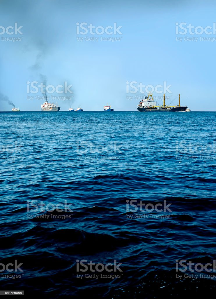 ship transportation industry royalty-free stock photo