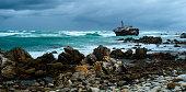 Ship Wreck at Cape Agulhas