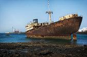 Ship Wreck - Lanzarote Spain