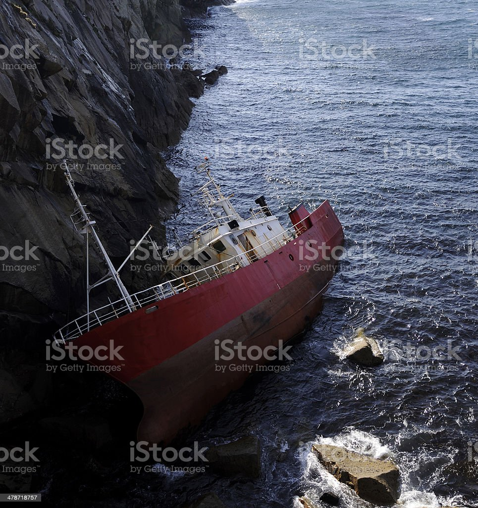 Ship Wreck royalty-free stock photo