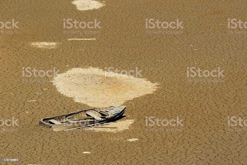 Ship Wrecked royalty-free stock photo