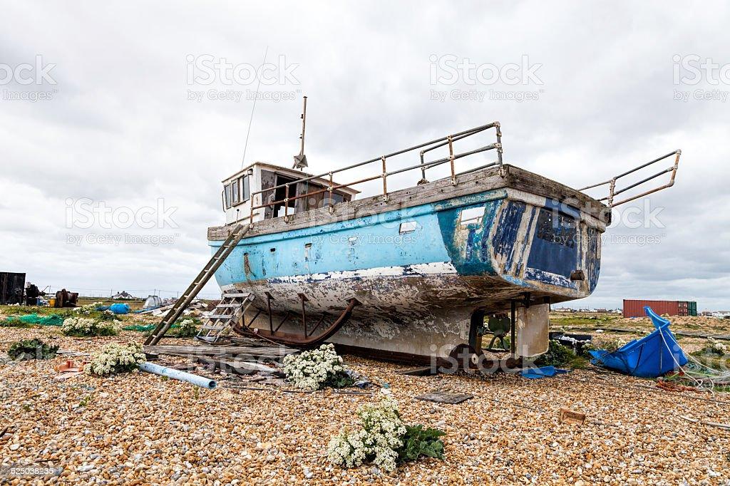 Ship Wrecked stock photo