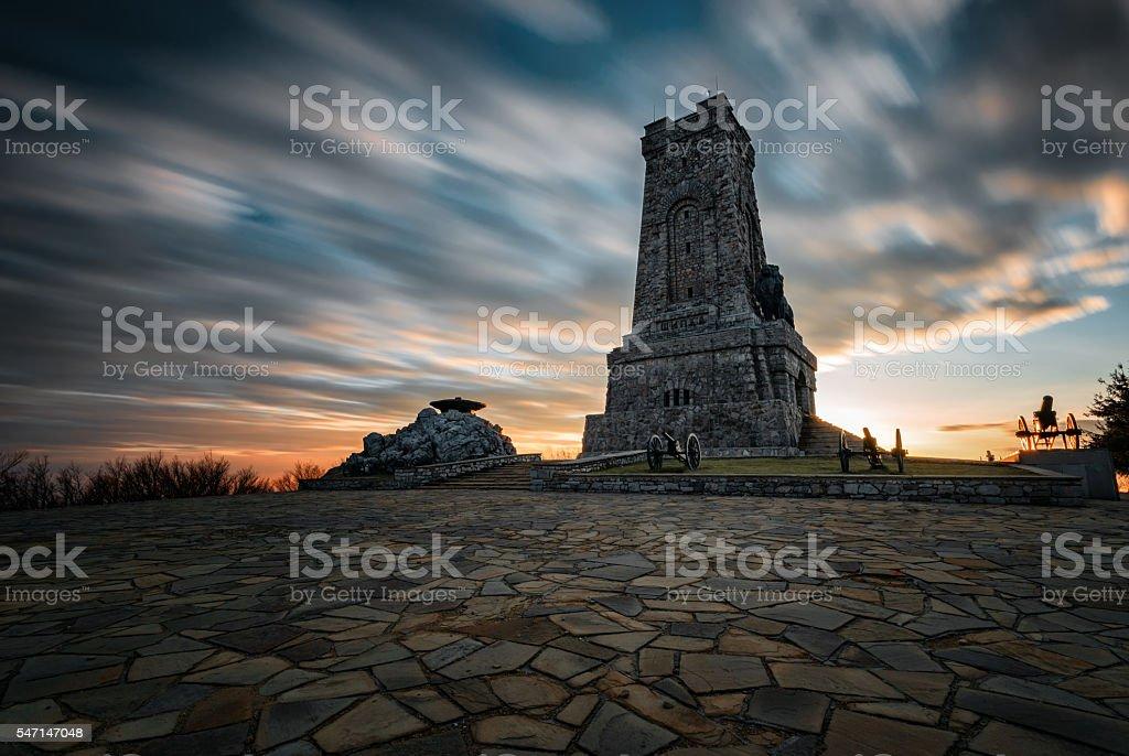 Shipka Monument, Bulgaria stock photo