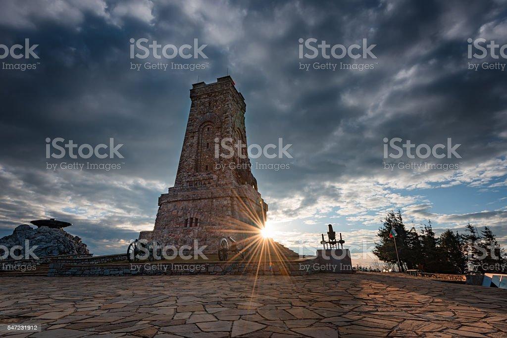 Shipka Monument, near Shipka town, Bulgaria stock photo