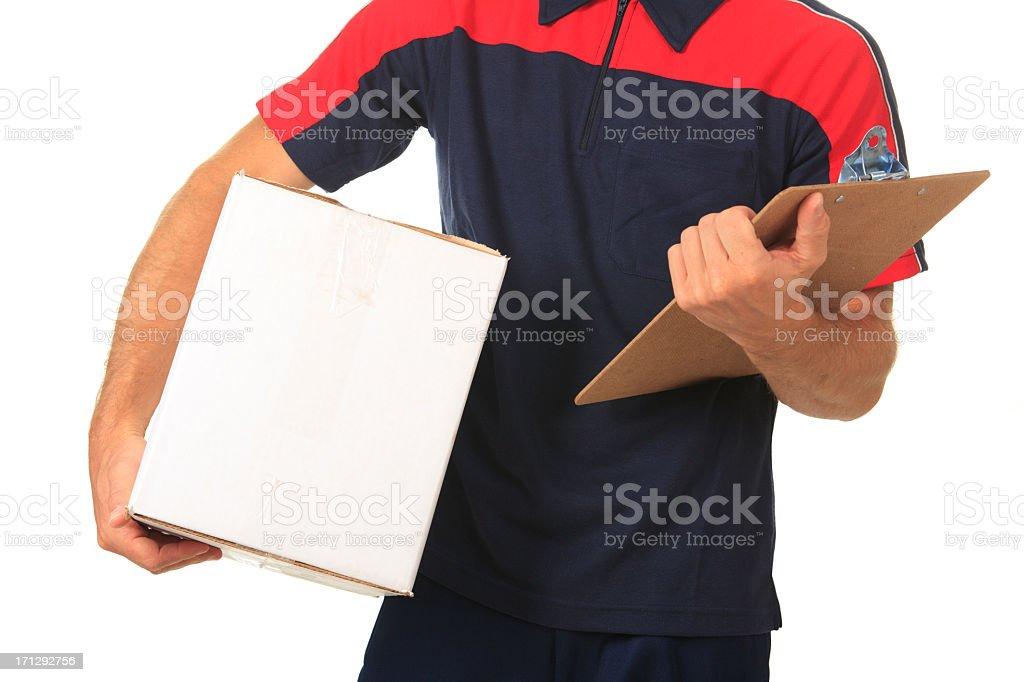 Shipping Company Employee royalty-free stock photo