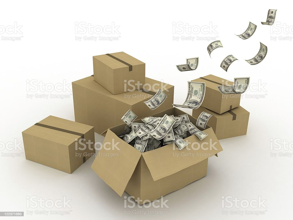 Shipping Costs royalty-free stock photo