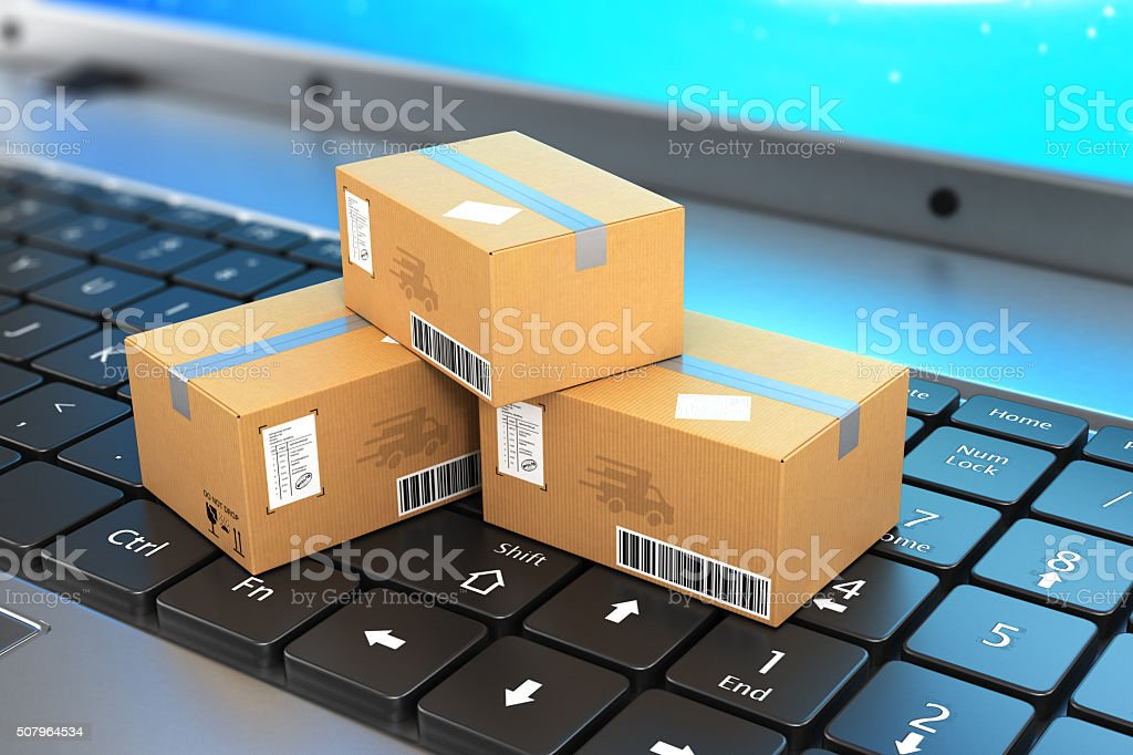 Shipping, delivery stock photo