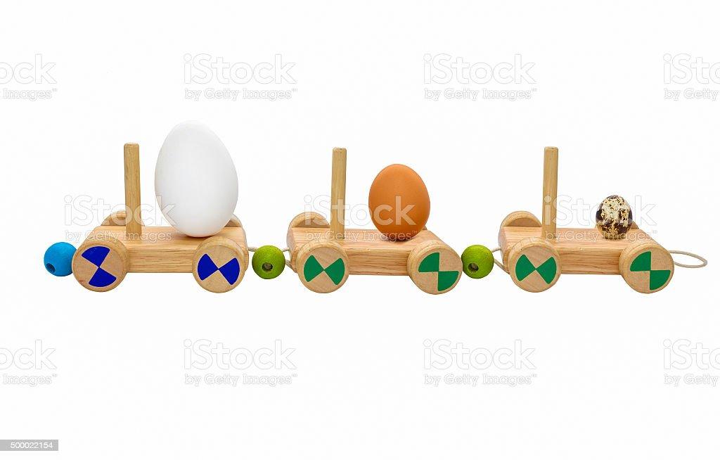 shipping farming eggs stock photo