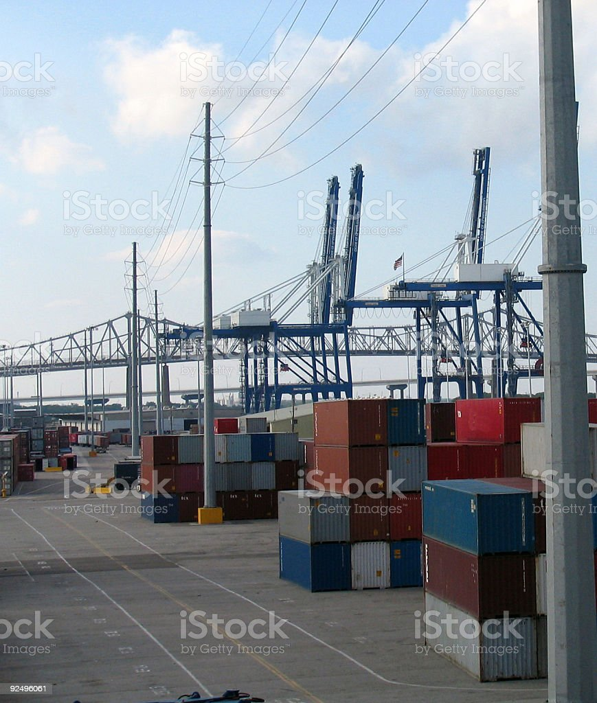 Shipping Field royalty-free stock photo