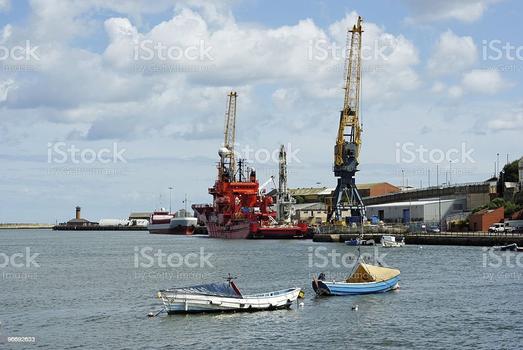 Shipping in Port. Stock photo royalty-free stock photo