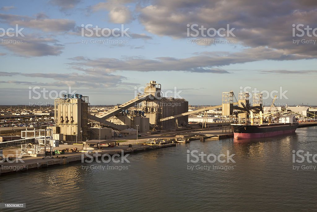 Shipping Industry stock photo