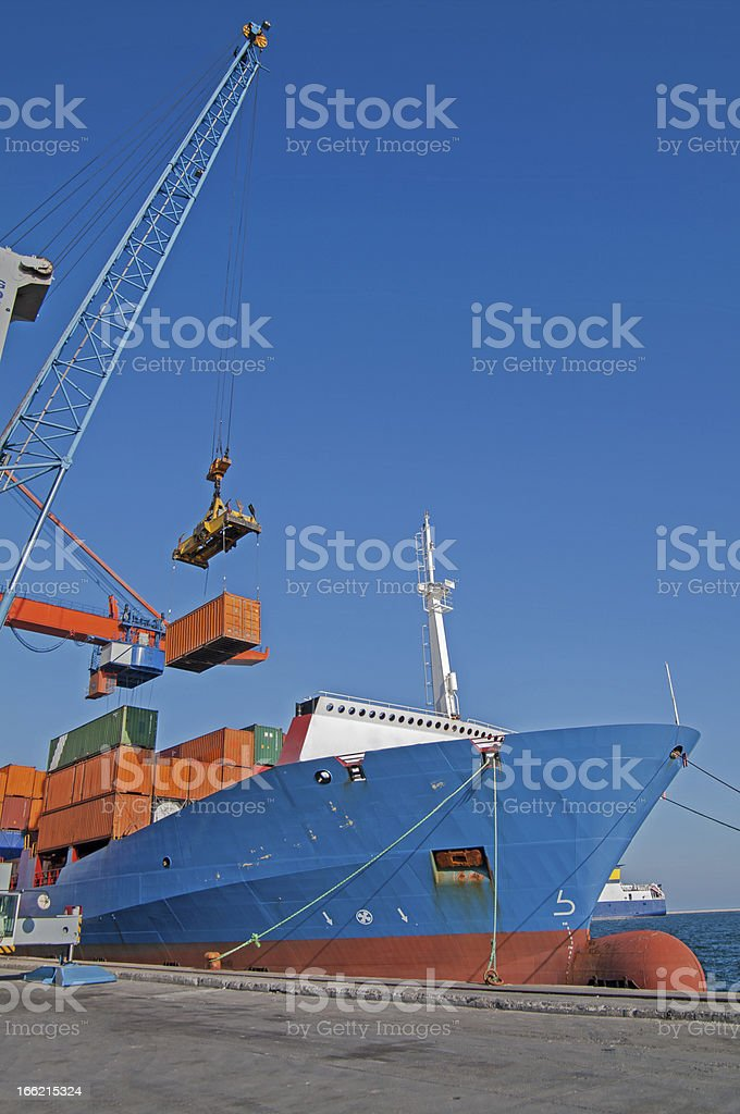 Shipping royalty-free stock photo