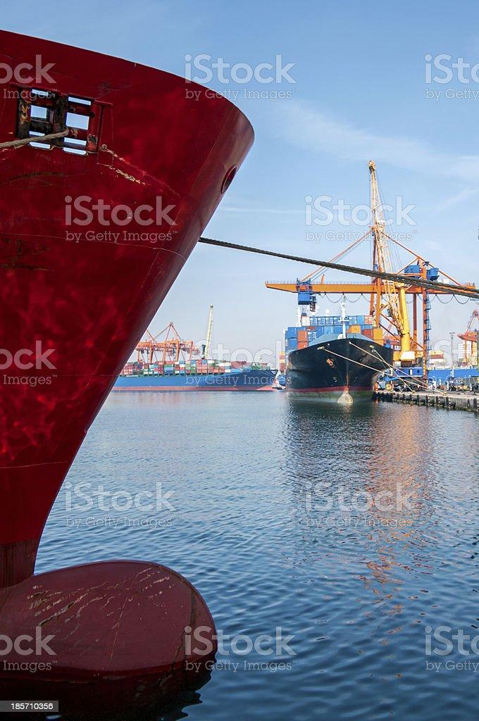 Shipping royalty-free stock photo