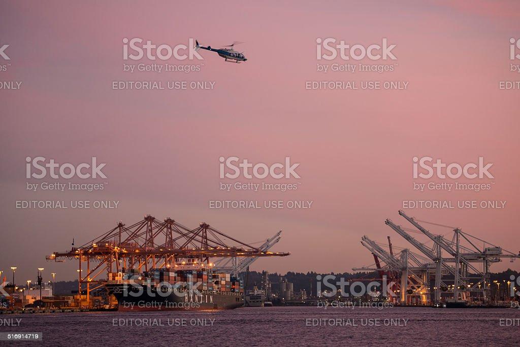 Shipping Ports stock photo