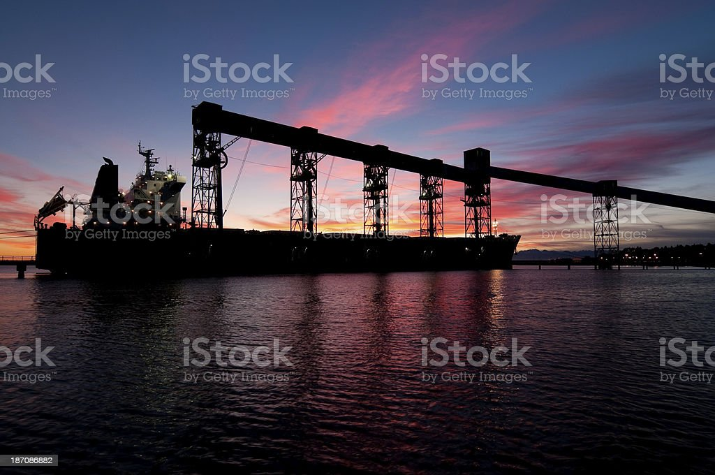 Shipping Tanker royalty-free stock photo