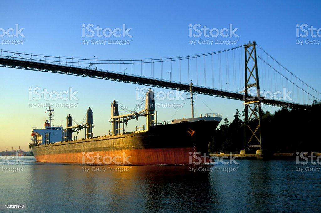 shipping transport export import stock photo
