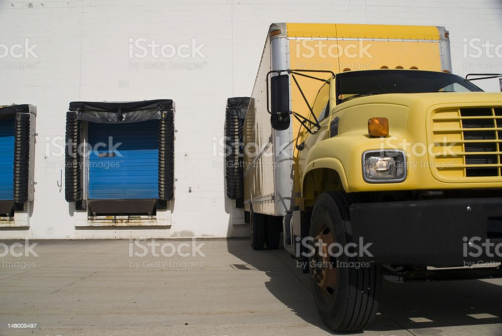 Shippng Tuck stock photo