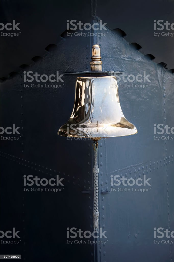 Ships Bell stock photo